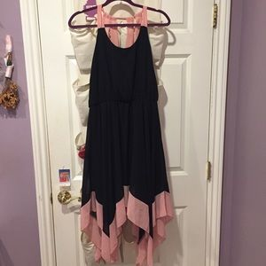 Two-toned dress